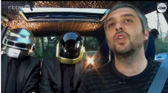 Le poisson d'avril de la RTBF en Belgique, à propos des Daft Punk (Vidéo).