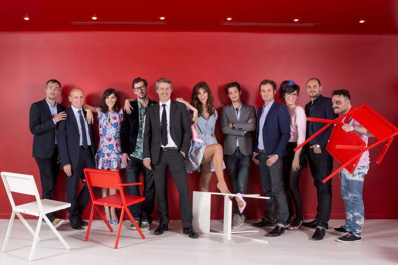 Les invités du Grand journal à Cannes ce soir (dont Clavier et Lauby).