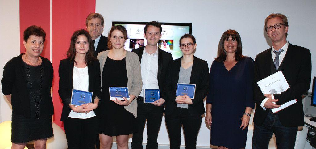 Voici les 4 lauréats du Grand Prix Patrick Bourrat (TF1/LCI).