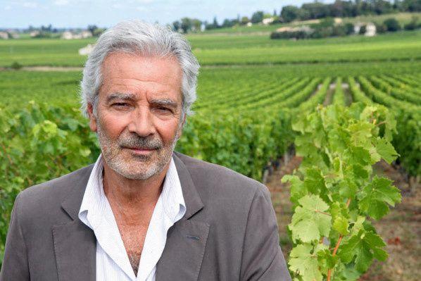 Un nouvel épisode du Sang de la vigne avec Pierre Arditi en tournage pour France 3.