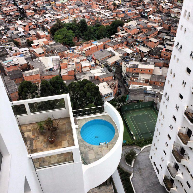 Inédit ce soir : Sur les toits de Sao Paulo.