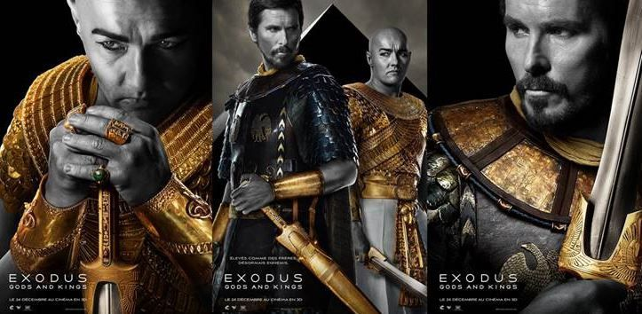 Bande-annonce VOST d'Exodus : Gods and Kings.