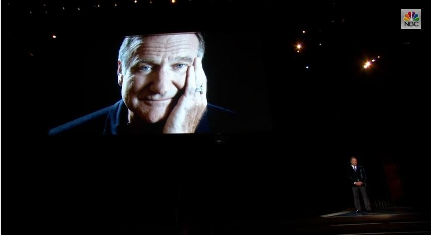 Vidéo : l'hommage à Robin Williams lors des Emmy Awards.