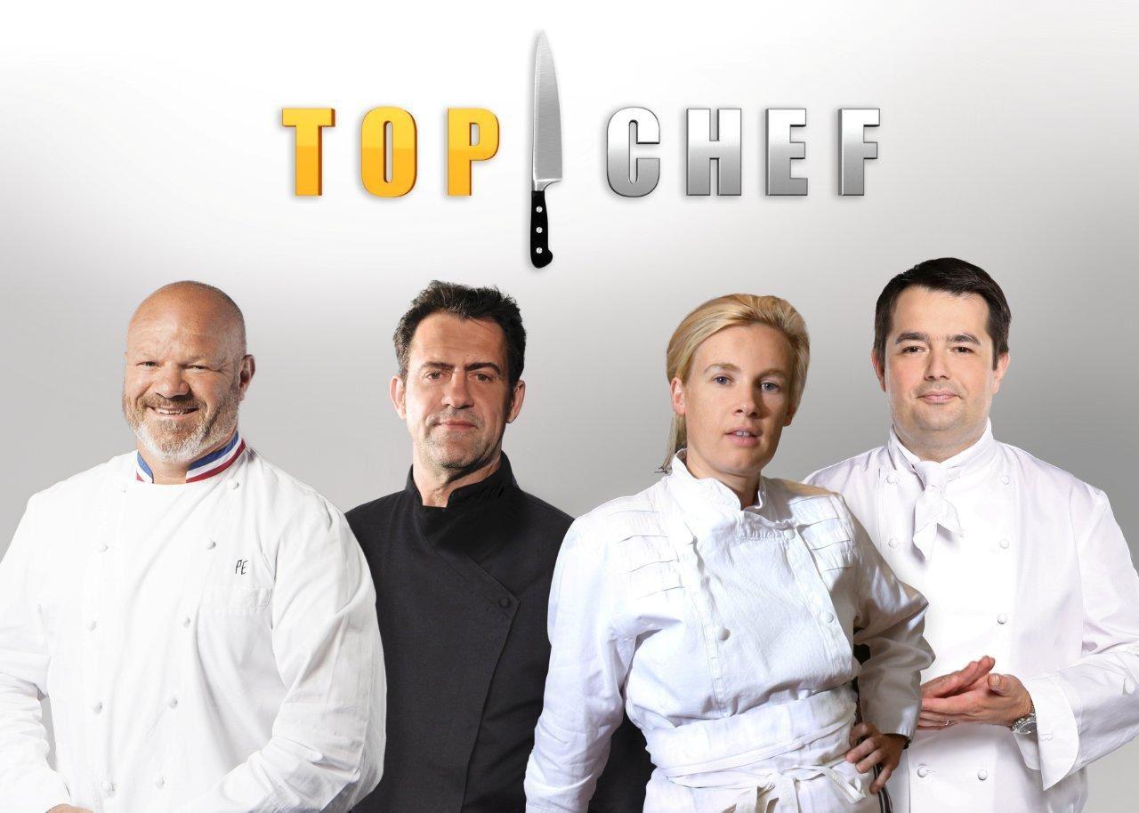 La photo du nouveau jury de Top Chef sur M6.