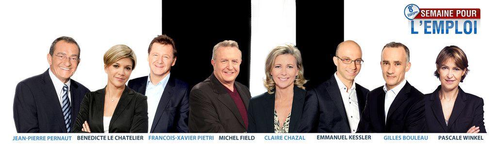 TF1, LCI et MYTF1News : 8ème Semaine pour l'Emploi (annonces validées, reportages).