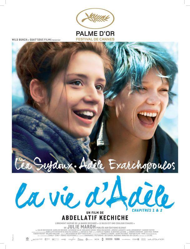 La vie d'Adèle, Palme d'Or, dès le 7 octobre sur Canal+.