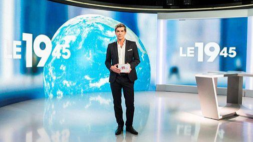 Record d'audience hebdomadaire pour le 19.45 sur M6.