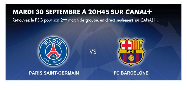 Record d'audience pour PSG - Barcelone sur Canal+.