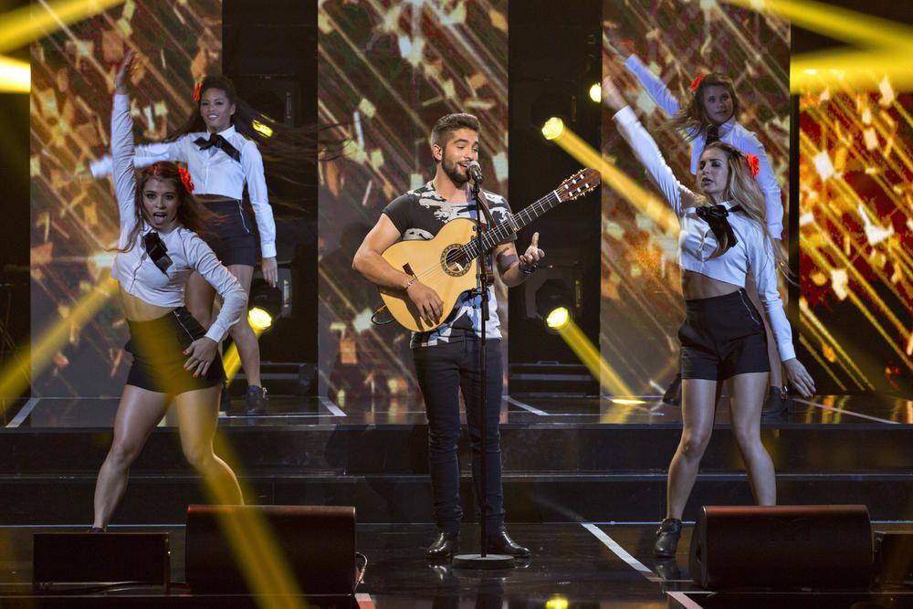 Kendji Girac redevient numéro 1 des ventes d'albums.