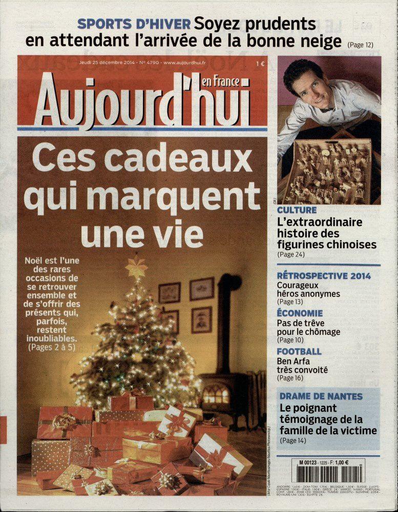 La Une de la presse quotidienne nationale ce 26 décembre.