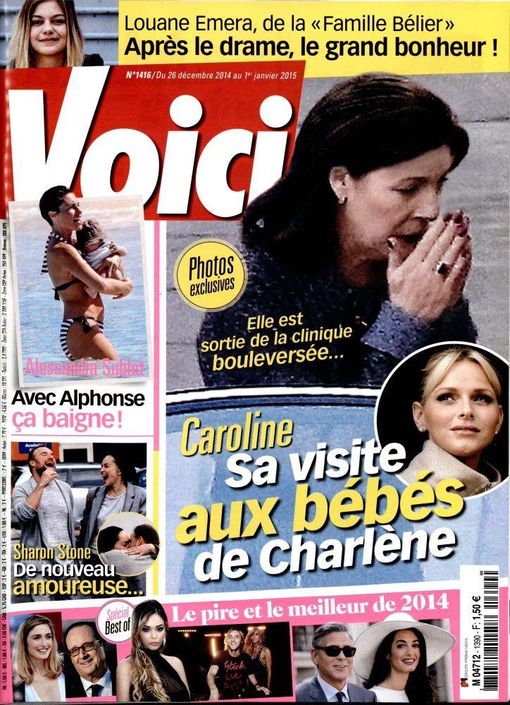 La Une de la presse people ce vendredi : Nabilla, Chancel, Caroline...