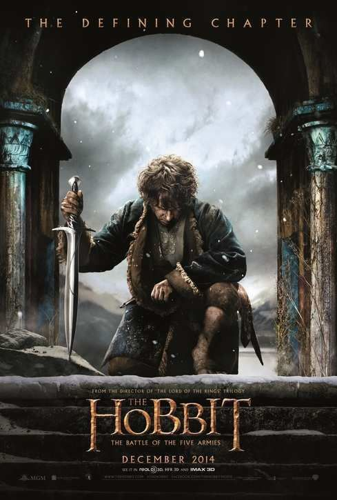 4 millions d'entrées en 3 semaines pour le dernier volet du Hobbit.