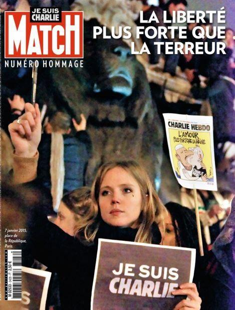 Numéro spécial de Paris Match dès ce lundi.