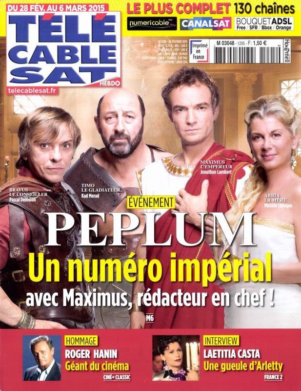 La Une de la presse hebdo TV ce 23 février : Fabienne Carat, Laetitia Casta...