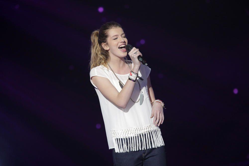 Les prestations de Côme, Alvy, Battista, Manon dans The Voice le 4 avril.
