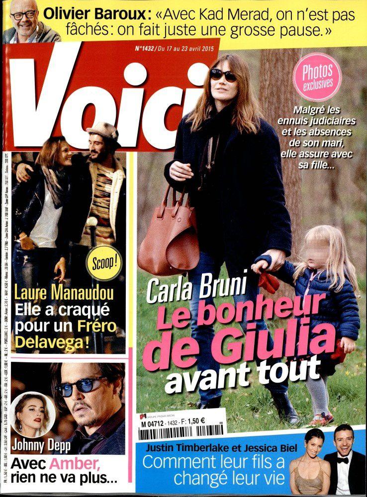 La Une de la presse people ce vendredi : Laure Manaudou, Fréro Delavega, Alizée.