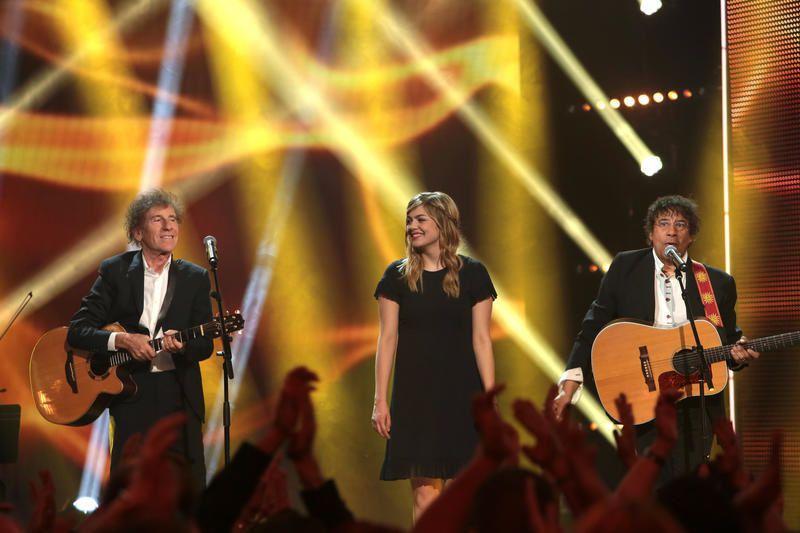 Audience demi-finale de The Voice et La fête de la chanson française.