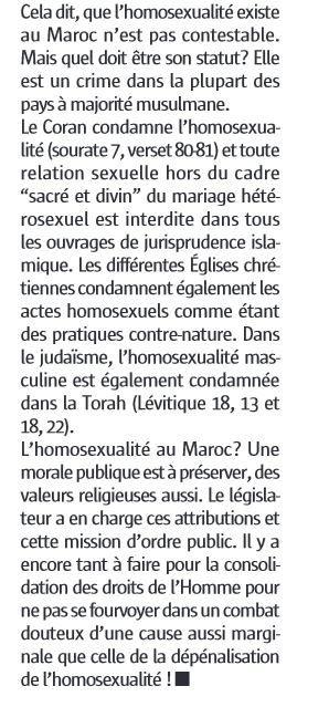 La direction de Maroc Hebdo annonce le retrait de son numéro polémique.