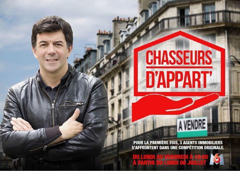 Audience de la nouveauté Chasseurs d'appart, sur M6.