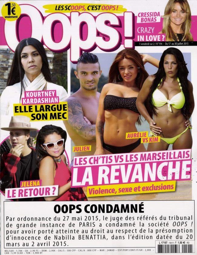 La Une de la presse people ce vendredi : Capucine, Louis Sarkozy, Vanessa Paradis...