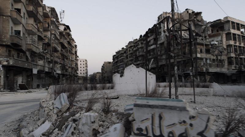 Document à voir ce soir sur France 4 : Syrie, les fantômes d'Alep.