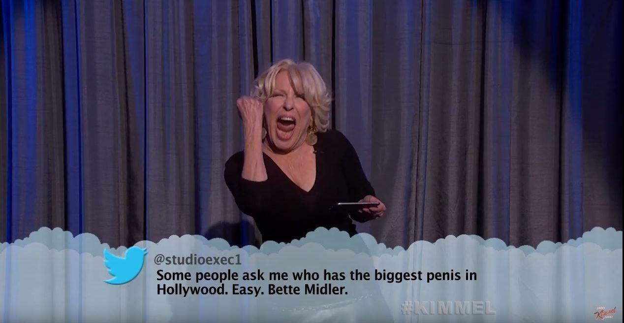 Nouvelle salve de tweets lus par des stars dans le show de Jimmy Kimmel (Vidéo).