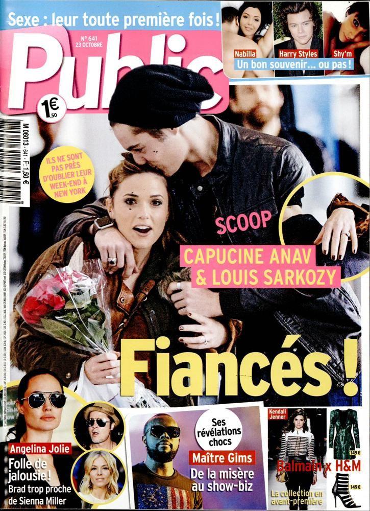 La Une de la presse people : Carla Bruni, Claire Chazal, Capucine.