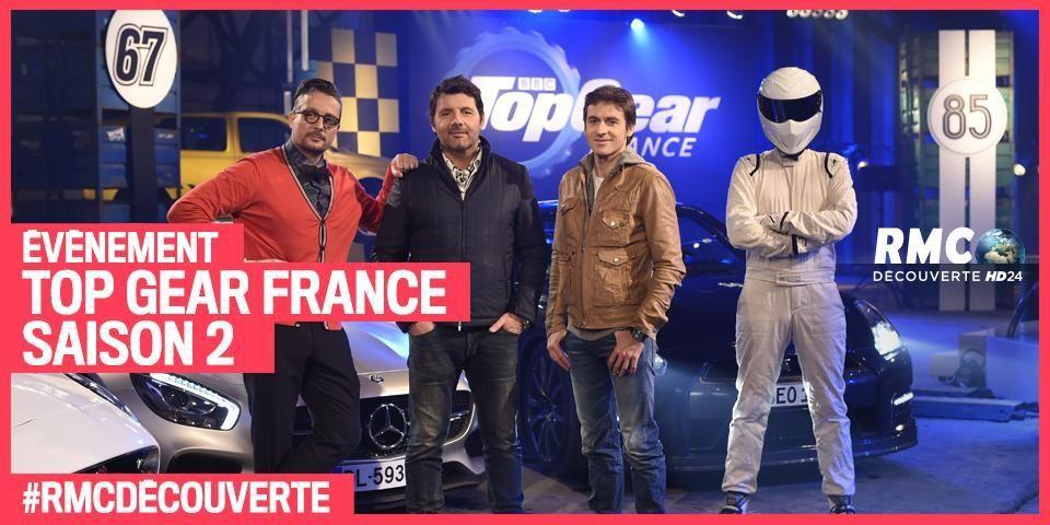 Top Gear France saison 2 : enregistrement des plateaux.