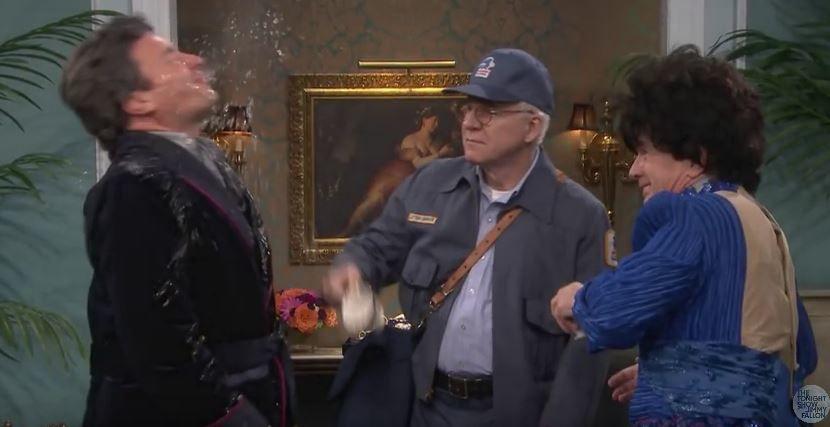Tensions, parodie de soap avec Jimmy Fallon, Martin Short et Steve Martin.