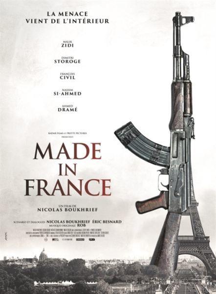 Made in France, film prémonitoire qui devait sortir mercredi en salles.