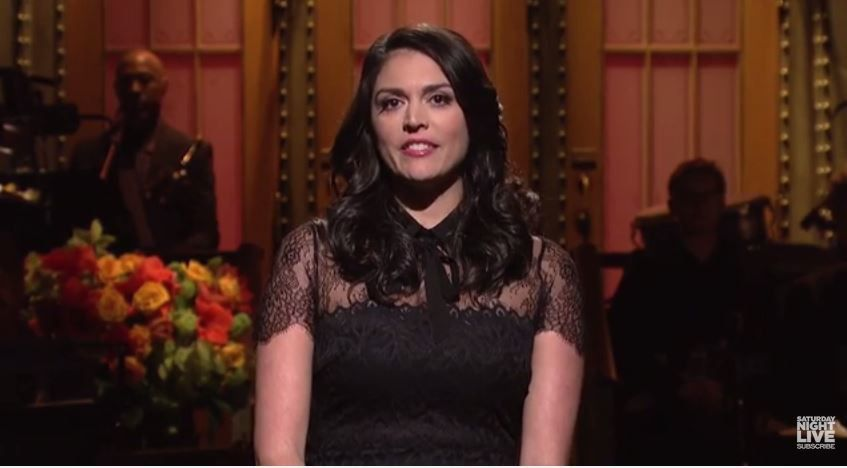 """L'ouverture du Saturday Night Live : """"On vous envoie tout notre amour""""."""
