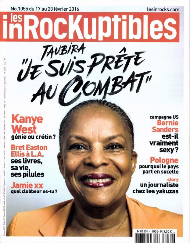 Dans Les Inrocks, Christiane Taubira se dit prête au combat.