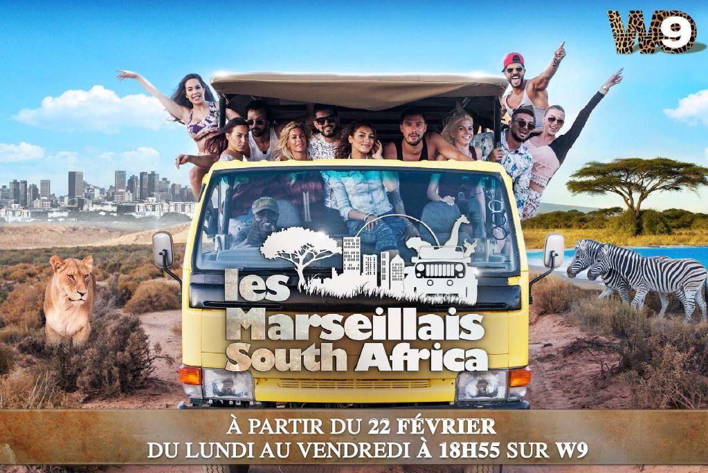 Les participants aux Marseillais South Africa dès ce lundi sur W9.