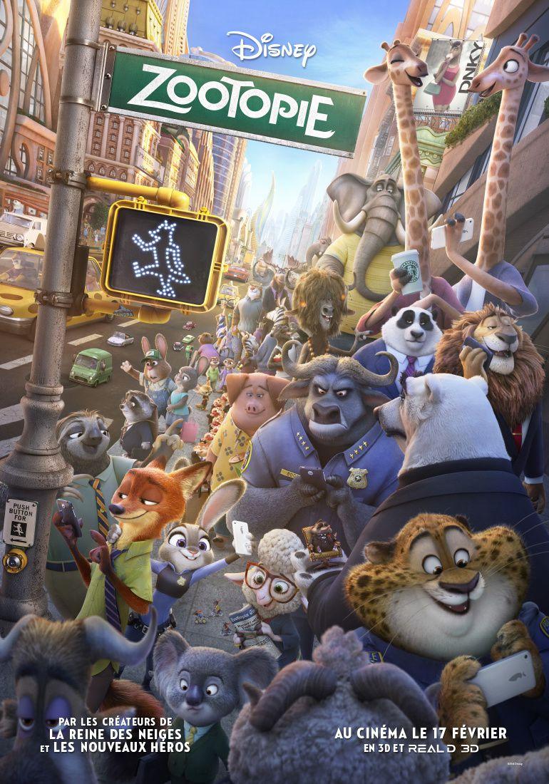Box-office hebdomadaire : l'animé Zootopie en tête.