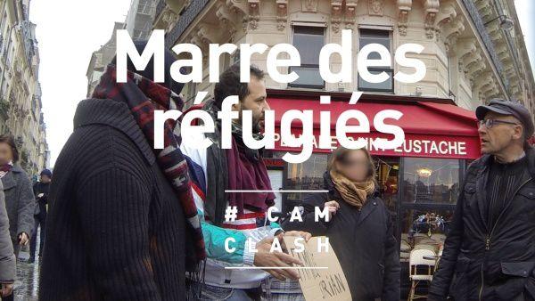 """""""Marre des réfugiés"""" : vidéo d'un épisode inédit de Cam Clash."""