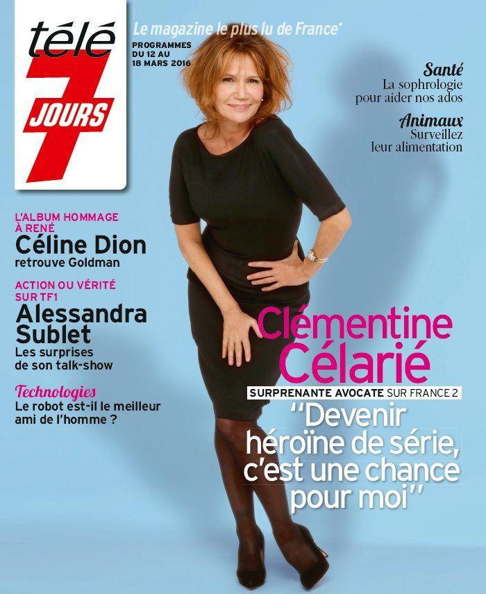 La Une des hebdos TV ce lundi : Lucie Lucas, Alexandra Lamy, Fabienne Carat.