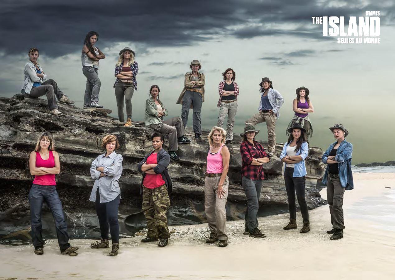 Les 30 participants hommes et femmes de The Island saison 2.