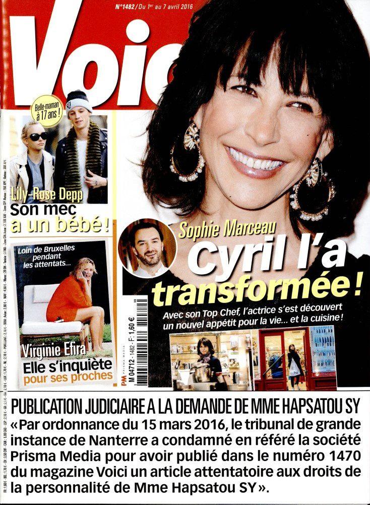 """La Une de la presse people ce 1er avril : Jenifer encore """"à l'honneur""""."""