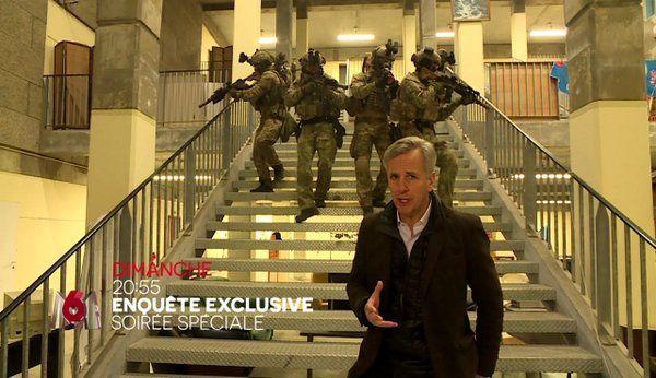 Enquête ce dimanche sur M6 : Comment la France se protège contre le terrorisme.