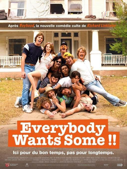 Extrait de la comédie Everybody wants some (par le réalisateur de Boyhood)..