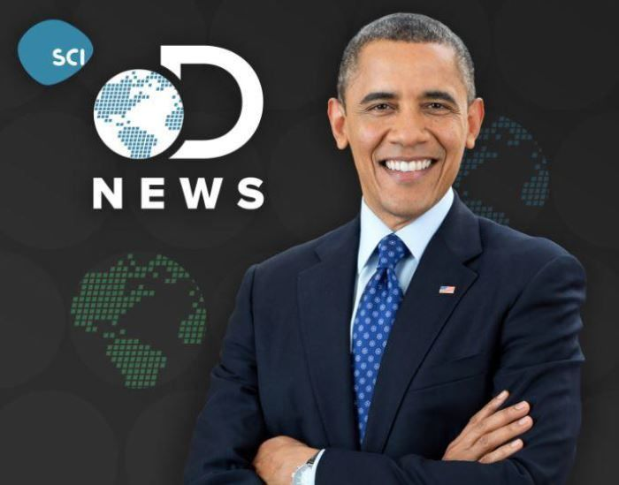 Barack Obama s'installe sur Discovery Science...