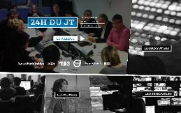 """"""" 24 heures du JT """", webdoc qui dévoile les coulisses du Grand Soir 3."""