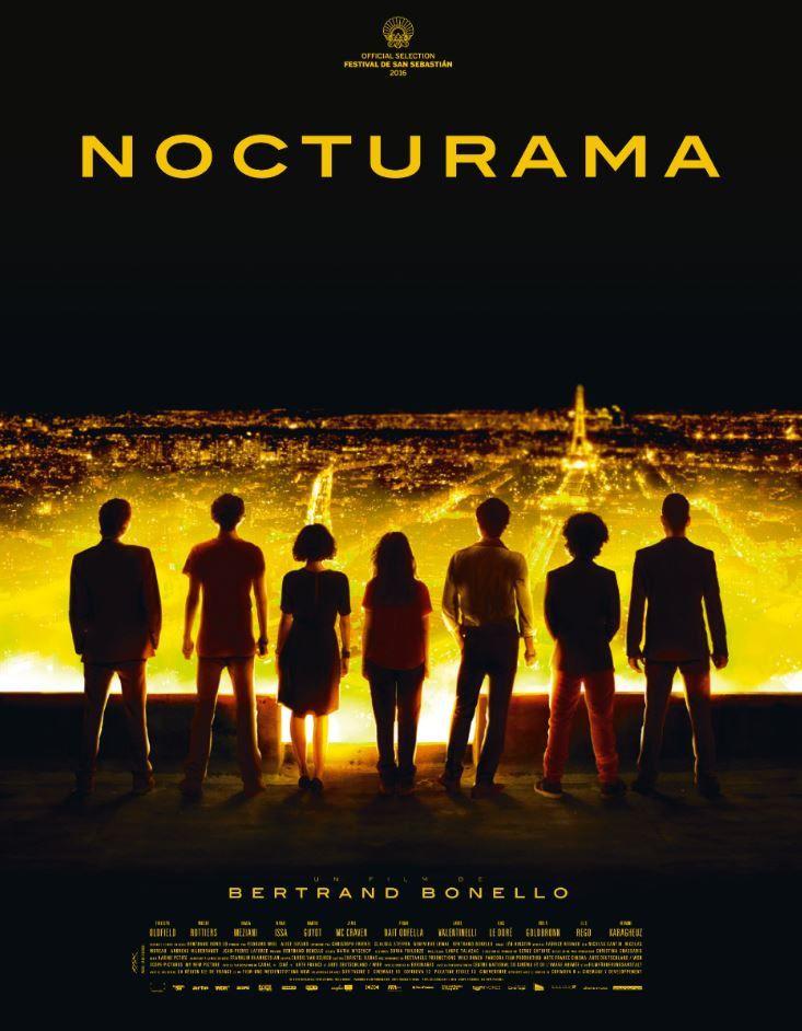 En salles aujourd'hui : le film Nocturama réalisé par Bertrand Bonello.
