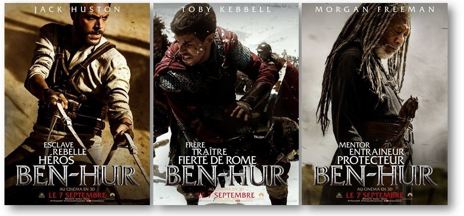 Box-office États-Unis ce week-end : Ben-Hur prend l'eau !