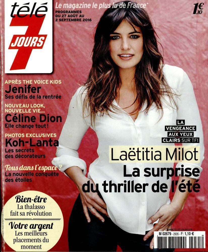 La Une de la presse hebdo TV ce lundi : Jenifer et Laëtitia Milot à l'honneur.