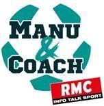 RMC lance son nouveau show Manu&Coach, avec Emmanuel Petit et Rolland Courbis.