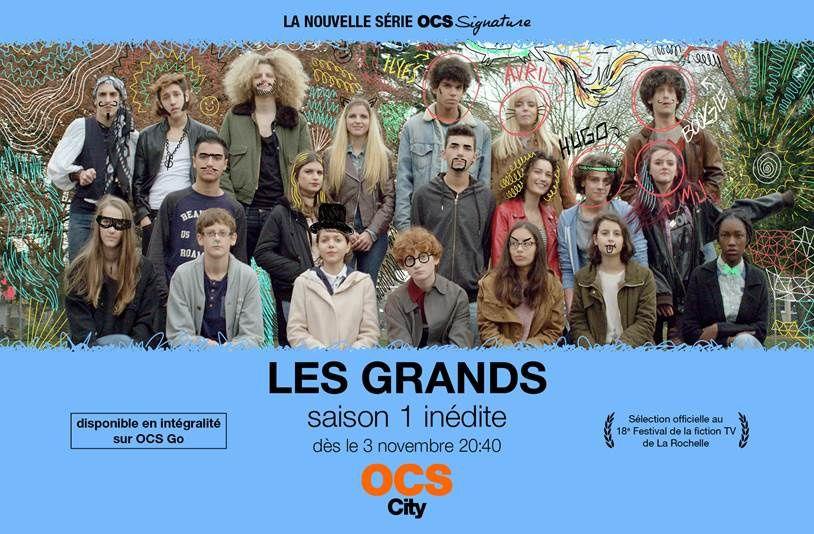 La série française inédite Les Grands diffusée dès ce jeudi 3 novembre sur OCS.