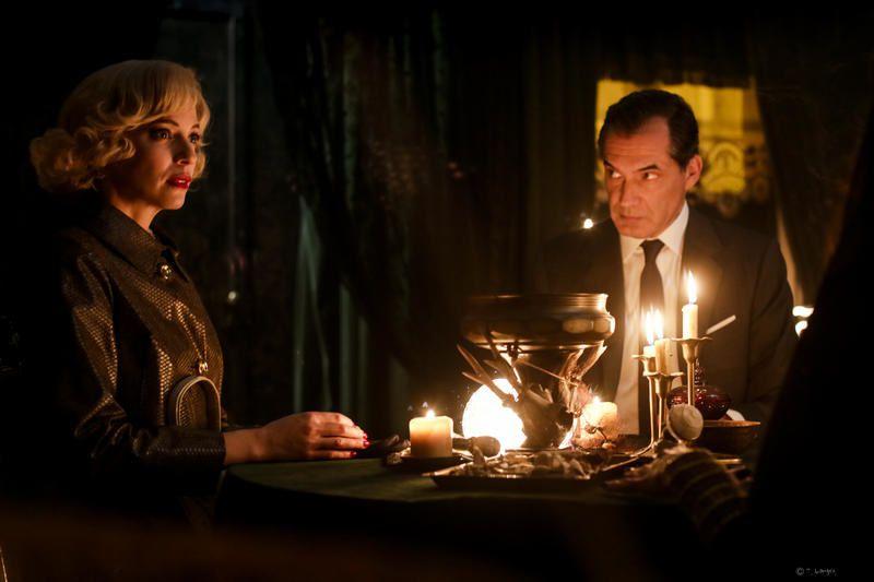 Philtre d'amour et boule de cristal ce vendredi dans Les petits meurtres d'Agatha Christie.