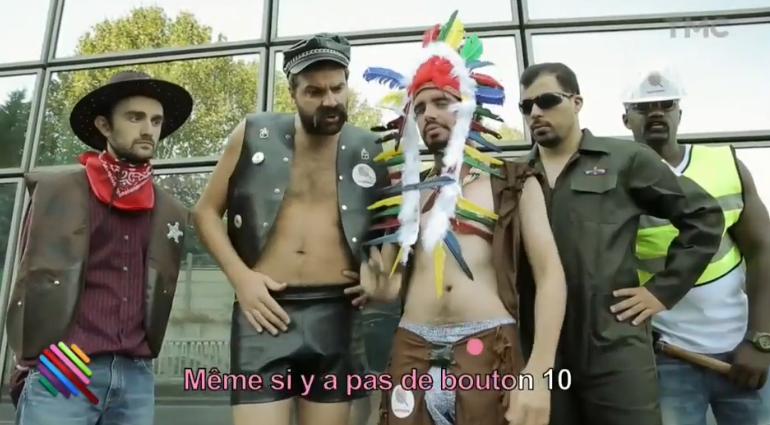 """La parodie """"YMCA TF1"""" par Éric et Quentin dans l'émission Quotidien."""