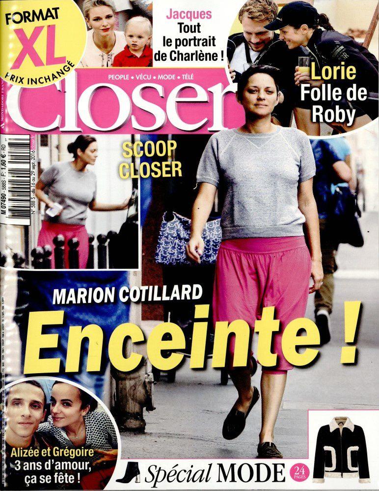 La Une de la presse people ce vendredi : Marion Cotillard, Kendji...